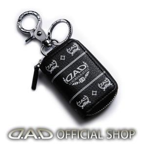 D.A.D LUXURY スマートキーケース2 タイプディルスデザイン ブラック/ホワイト HA567 4560318770188 GARSON ギャルソン DAD かっこいい オシャレ|dad