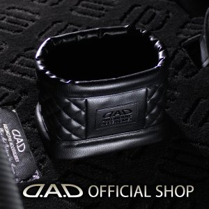 D.A.D ダストボックス タイプ キルティング【HA588】 車用 ゴミ箱 GARSON ギャルソン DAD|dad