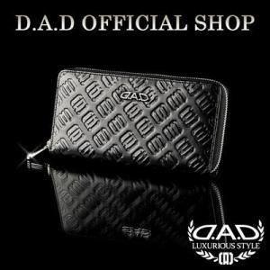 D.A.D (GARSON/ギャルソン) ウォレット(財布) LE051-01 モノグラムレザーブラックDAD 4560318663978|dad