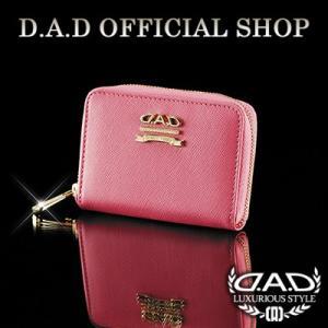 D.A.D (GARSON/ギャルソン) DAD キーケース LE065-04 (ピンク/ゴールド)  DAD|dad