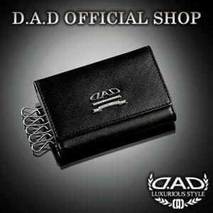 D.A.D (GARSON/ギャルソン) キーケース(ブラック/シルバー)LE068-01 DAD|dad