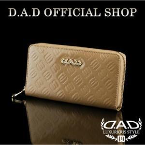 D.A.D (GARSON/ギャルソン) ウォレット(財布) LE095-11 モノグラムレザーエナメルムーンライト/ゴールドDAD 4560318750081|dad