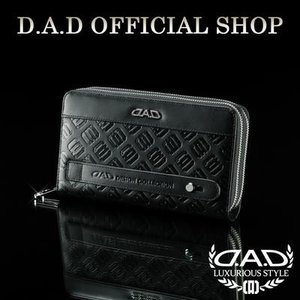 D.A.D (GARSON/ギャルソン) ウォレット(財布) LE098-01 モノグラムレザーブラック/シルバーDAD 4560318744165|dad