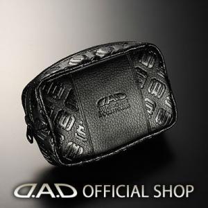 D.A.D ポーチ W140X90 モノグラムブラック LE105 GARSON ギャルソン DAD...