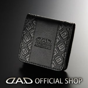 D.A.D コインケース(財布 ウォレット) LE112-01 モノグラムレザーブラックGARSON ギャルソン DAD 4560318763081|dad