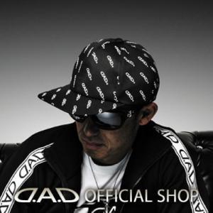 D.A.D CAP ブラック/ホワイト MC010-01 帽子 GARSON ギャルソン DAD 4560318763753|dad