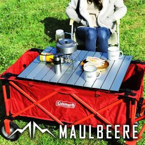 MAULBEERE/マルビーレ FOLDING TABLE アルミ アウトドア キャリーワゴン用 折り畳みテーブル 汎用 アウトドアワゴンテーブル アウトドアワゴン用 テーブル|dad