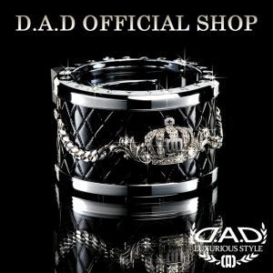 D.A.D (GARSON/ギャルソン) LUXURY ドリンクホルダー タイプ クラウン シルバー/クリスタル DAD 4571259518661|dad