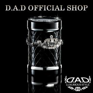 D.A.D (GARSON/ギャルソン) LUXURY アッシュボトル タイプ クラウン シルバー/クリスタルDAD 4571259518883|dad