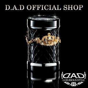 D.A.D (GARSON/ギャルソン) LUXURY アッシュボトル タイプ クラウン ゴールド/クリスタルDAD 4571259518999|dad