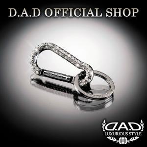 D.A.D (GARSON/ギャルソン) クリスタルカラビナキーリング 4560318686281 DAD|dad
