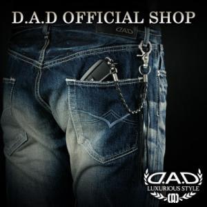 D.A.D (GARSON/ギャルソン)  D.A.D 紛失防止 バッグ チャーム  【シルバー/ゴ...