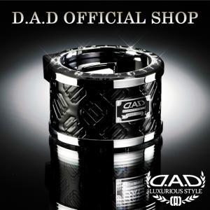 D.A.D (GARSON/ギャルソン) LUXURY ドリンクホルダー タイプ モノグラムレザーエナメル ブラック/シルバー DAD 4560318720749|dad