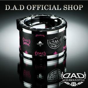 D.A.D (GARSON/ギャルソン) LUXURY ドリンクホルダー タイプ ディルス ブラック/ピンク DAD 4560318745629|dad
