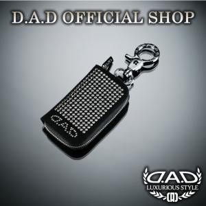 D.A.D (GARSON/ギャルソン) LUXURY スマートキーケース タイプEXE クリスタル  DAD SWAROVSKI スワロフスキー dad