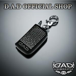 D.A.D (GARSON/ギャルソン) LUXURY スマートキーケース タイプEXE ブラックグラデーション DAD SWAROVSKI スワロフスキー dad