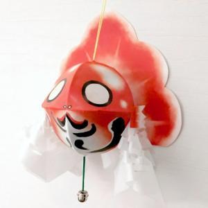青森ミニ金魚ねぶたカンタンキット2(赤)|dagashiya-aomori