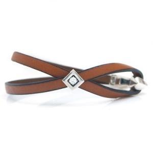 ブレスレット レザー 本革 キュービックジルコニア メンズ シンプル 人気 プレゼント dagdart ダグダート|dagdart