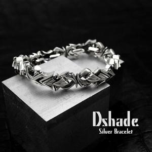 ブレスレット シルバー メンズ 太目 ロック シルバー925 人気 プレゼント dagdart ダグダート|dagdart