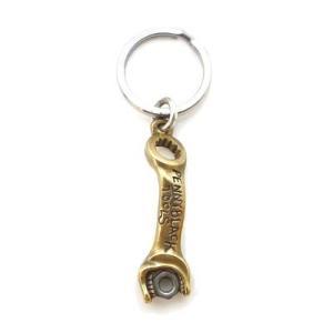 キーホルダー 真鍮 ブラス スパナ 工具 シルバー925 人気 プレゼント dagdart ダグダート|dagdart