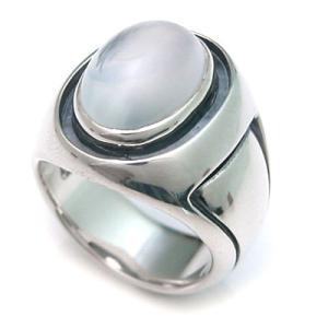 ムーンストーン シルバーリング/指輪/DAgDART・ダグダート DR-049-MS dagdart