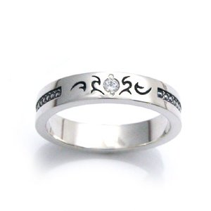 ハート誕生石 シルバーリング/指輪(レディース)[prickly love]/DAgDART・ダグダート DR-205|dagdart