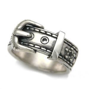 [送料無料][Penny Black]ベルトモチーフ ブラックキュービック シルバーリング/指輪DAgDART DR-276-BCZ dagdart