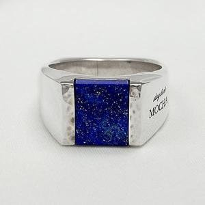 [dagdart MOCHA]ラピスラズリ シルバーリング/シルバー指輪 DAgDART DR-304LL|dagdart