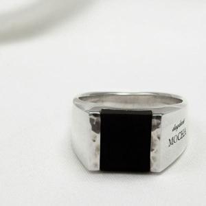 [dagdart MOCHA]オニキス シルバーリング/シルバー指輪 DAgDART DR-304OX|dagdart