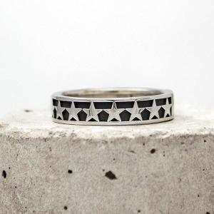 星(スター)×シルバーリング/指輪 メンズ DAgDART/ダグダート DR-352|dagdart