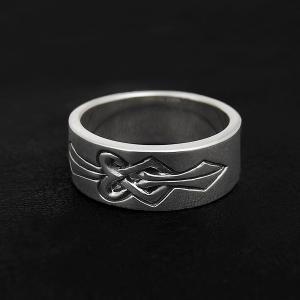 [送料無料]Knot 絆 結び×シルバーリング/指輪(メンズ) DAgDART/ダグダート DR-359|dagdart