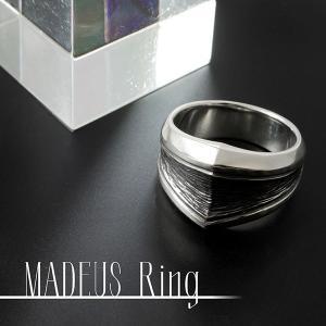 [送料無料] 刻印 シルバーリング/指輪(メンズ)  「MADEUS」 DAgDART/ダグダート DR-362|dagdart