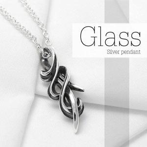 [Glass]シルバーペンダント DT-428|dagdart