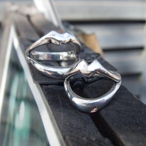 PennyBlack シルバーリング ペア 指輪 リップ くちびる 唇 P-003-004|dagdart