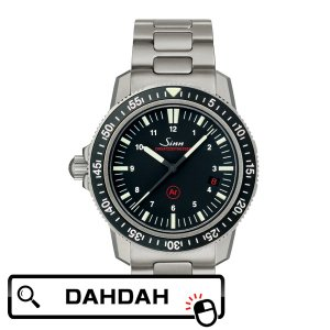 【クーポン利用で10%OFF】Sinn ジン ドイツ製 ドイツメイド EZM-3ブレス 603.EZM-3ブレス メンズ 腕時計 国内正規品 送料無料 dahdah