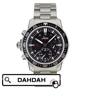 【クーポン利用で10%OFF】Sinn ジン メタルバック ドイツ製  ドイツメイド EZM13 613.EZM13 メンズ 腕時計 国内正規品 送料無料 dahdah