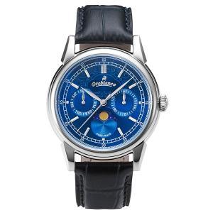【クーポン利用で10%OFF】ブルー文字盤  日本製 OR0074-5 Orobianco オロビアンコ メンズ 腕時計 国内正規品 送料無料|dahdah