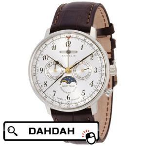 【クーポン利用で10%OFF】ZEPPELIN ツェッペリン ムーンフェイズ 70361 送料無料 メンズ 腕時計|dahdah