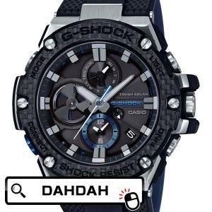 G-STEEL CARBON PLBAND色追加 GST-B100XA-1AJF CASIO カシオ G-SHOCK ジーショック Gショック メンズ 腕時計 国内正規品|dahdah