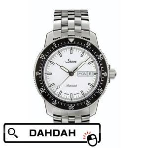 【クーポン利用で10%OFF】ドイツ 104.ST.SA.I.W Sinn ジン メンズ 腕時計 国内正規品 送料無料 dahdah