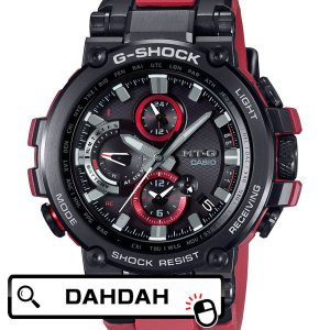 電波ソーラー スマートフォンリンク ブラック レッド MTG-B1000B-1A4JF カシオ Gショック CASIO G-SHOCK メンズ 腕時計 国内正規品|dahdah