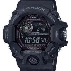 レンジマン 高度 気圧 温度 方位 GW-9400J-1BJF G-SHOCK Gショック ジーショック CASIO カシオ メンズ 腕時計 国内正規品 送料無料|dahdah