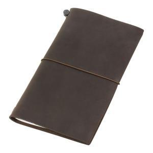 トラベラーズノート Traveler's note book 茶 チャ 13715006|dahlia-s
