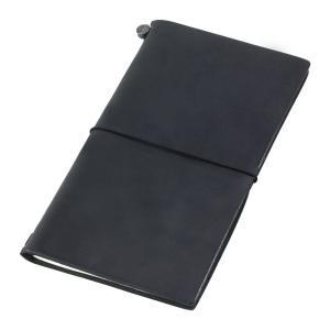 トラベラーズノート Traveler's notebook 黒 クロ 13714006|dahlia-s