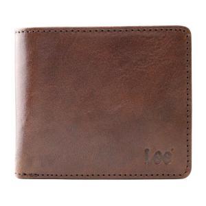 [リー] 二つ折り財布 メンズ 0520234 チョコ dahlia-s