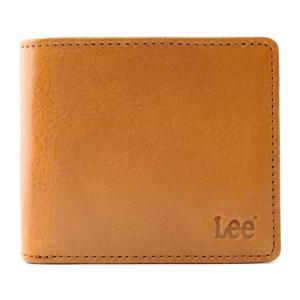 [0520234] ブラウン [リー]LEE Book型 二つ折り財布 (イタリアンレザー) dahlia-s