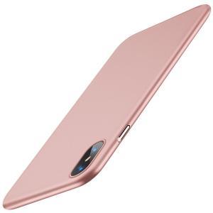 TORRAS iPhone X ケース 薄型 PC 全面保護 Qi 充電 対応 耐衝撃カバー ガラス...