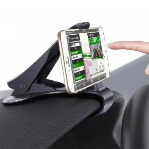 スマホ車載ホルダー クリップ式 Siensync カーマウント HUDシミュレーション設計 スマホスタンド 着脱簡単 ダッシュボード・デスクにも適用 iPhone Android|dahlia-s