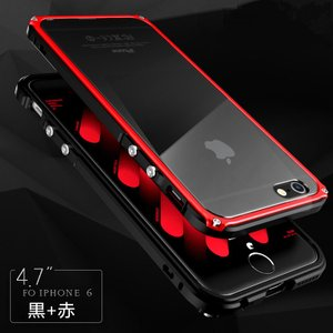 新作 iphone7 iphone7plus アルミバンパー ケース ねじ留め式 iphone6/6s/6s plus メタルフレーム 背面パネルカバー金属人気合金