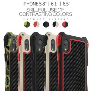 AMIRA for iPhone Xs/X/XsMax メタルケース  スリムなデザインで、持ちやす...
